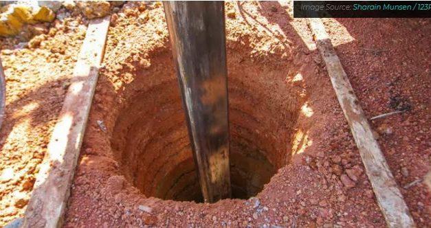 Soluções para o esgotamento das águas subterrâneas