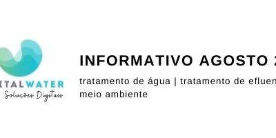 Informativo Digital Water – Agosto 2021