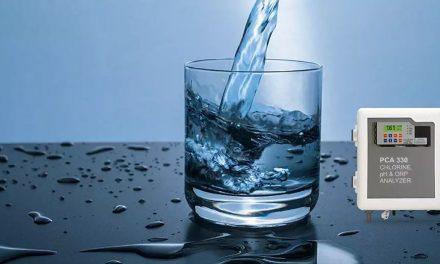 Controle de pH no processo de purificação de água
